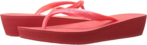 Havaianas Women's High Light Sandal Flip Flop, Coral New, 37 BR (7 M - Havaianas Shop