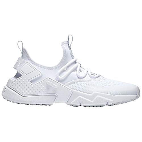 Mens Breathe Trainers Air Platinum Drift Pure White Nike Huarache Textile p7R1dnpqS