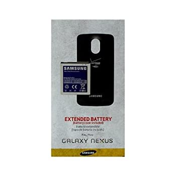 Samsung Galaxy Nexus (i515) Extended Battery with Battery Cover verizon