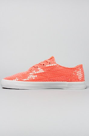 Rose Wrap Wmns Neon Coral Supra White Shoes wgqP1Fn