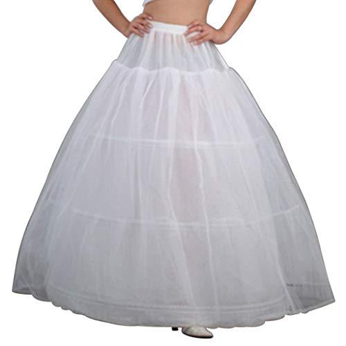 Taffeta Wedding Quinceanera Dress - Sixinu 3 Hoops Petticoat Bridal Crinolines Bustle Ball Gown Wedding Dress Underskirt