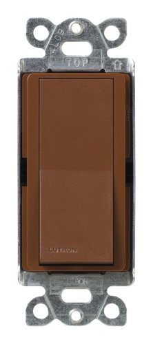 Lutron SC-3PS-SI Diva 15-Amp, 120-Volt to 277-Volt 3-Way Switch in - Colors Lutron Satin
