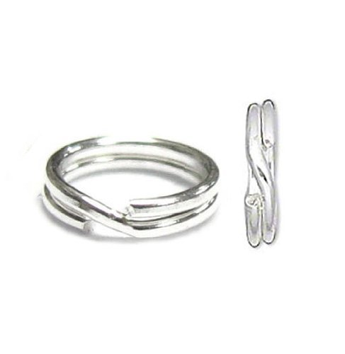 5mm sterling split ring - 2