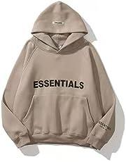 OLIVIAYDS Fear of God Essential Hoodies voor Unisex Hip Hop Sweatshirt Zwaargewicht Fleece Pullover Hooded Top