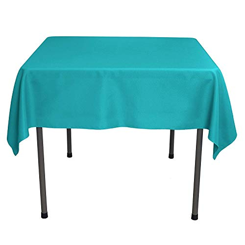 GlaiEleh Square Tablecloth - 54 x 54 Inch - Caribbean Square Table Cloth for Square or Round Tables in Washable Polyester - Great for Buffet Table, Parties, Holiday Dinner, Wedding -