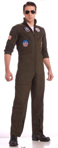 Top Gun Flight Suit Costume - Top Gun Flight Suit Costume Adult X-Large