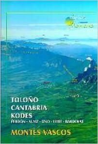 Toloño/Cantabria/kodes - Montes vascos (Guias De Montaña)