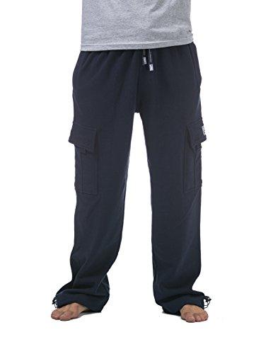 49cfecfb7303 Amazon.com  Pro Club Men s Heavyweight Fleece Cargo Pants  Clothing