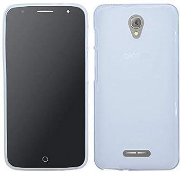 TPU Carcasa para Alcatel Pop 4 (5051d) silicona móvil Bumper ...