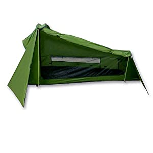 Outdoorer mapuera tent Trek Santiago, green, 1,25kg, small pack size, the lightweight tent for 1 person