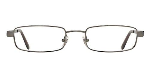 Ray-Ban Men's RX6076 Eyeglasses Brushed Gunmetal - Ban 2010 Ray