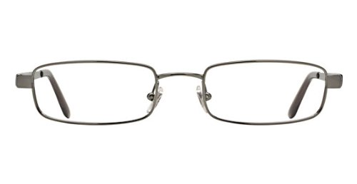 Ray-Ban Men's RX6076 Eyeglasses Brushed Gunmetal - Ray Womens Bans Eyeglasses
