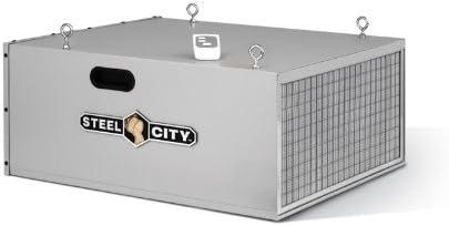 Steel City Tool Works 65120 Deluxe Air Filter - 3 Speed