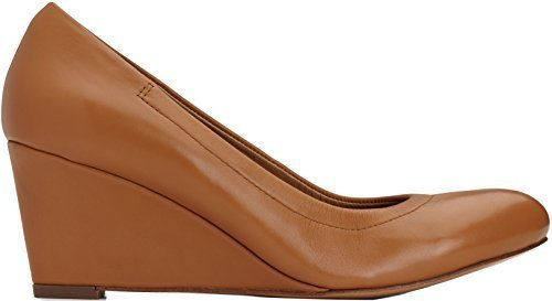 Vionic Womens Lux Camden Wedge Tan Size 7