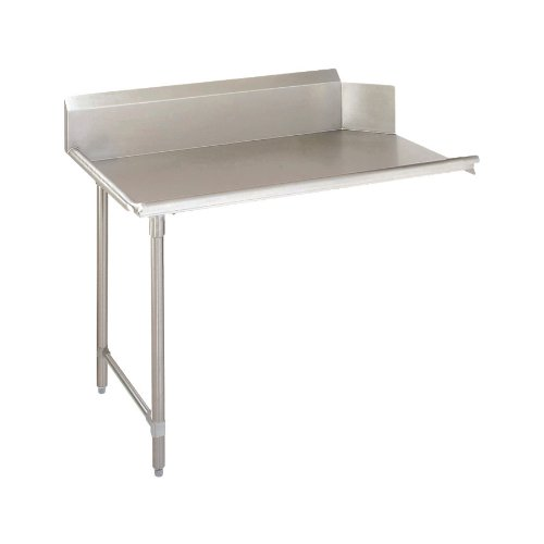 John Boos JDTC-20-60L Stainless Steel Straight Pro-Bowl Clean Dishtable, 60