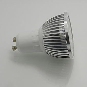 HJLHYL MND Blanco c¨¢lido/Blanco Natura, Regulable) - GU10 7 W, 110V - - Amazon.com