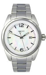 Dkny Mother Of Pearl Dial Watch - DKNY Women's NY1394 Mother-Of-Pearl Dial Watch