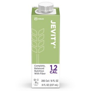 Jevity 1.2 Cal Nutritional Supplement Unflavored (Jevity 1.2 Cal - 8 Ounce Cartons) 1/Case of 24 Cartons