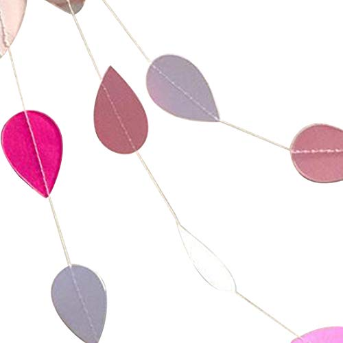 String G String - Arrival Birthday Party Wedding Shower Room Decoration 5cm 2m Colorful Bunting Hanging Garland Paper - Changing Color Lights Colorful Colors Colored String Bedroom ()