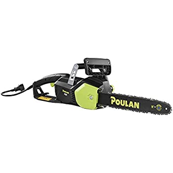 Amazon poulan 16 in 14 amp electric corded chainsaw pl1416 poulan 14 in 9 amp electric corded chainsaw pl914 greentooth Images