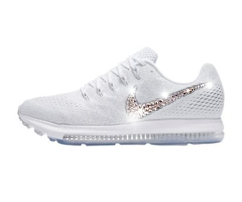 Nike Zoom all out low womens, Swarovski Nike shoes for women, Bling nike shoes, Glitter Nike shoes women, Glitter kicks, Rhinestone nikes, Womens Nike shoes, Custom nikes