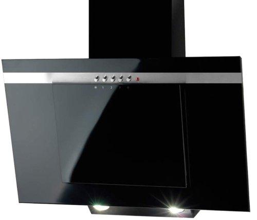 Akpo - Campana extractora wk-4 nero line negro/90cm/420m3/h - campana extractora de cocina WK-4 NERO 90