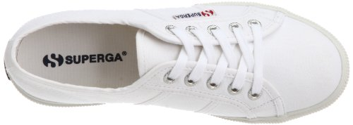 Unisex 2950 Superga Zapatillas lona 900 White Cotu de Blanco aAC1dqC