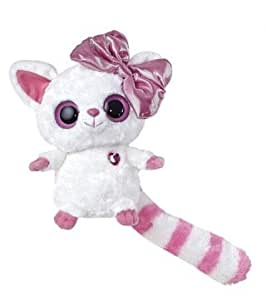 Amazon Com Pammee Gaga 4 You Fennec Fox Yoohoo With Pink Bow 8 Quot By Aurora Toys Amp Games