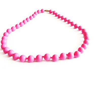 人気定番 Fashionable Silicone Teething Necklace to for Mom Baby to Unique Wear with Teething Baby - Lisa (Pink) by Unique Baby B00M1D25T8, 資生堂パーラー専門店マキアージュ:a0c10021 --- a0267596.xsph.ru