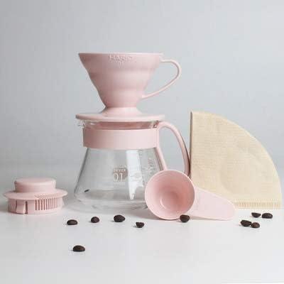 Yshen Cafetera Taza de café Espresso Tazas con Filtro Embudo Goteo ...