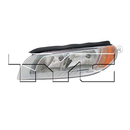 CarLights360: Fits 2008 2009 2010 2011 2012 Volvo S80 Headlight Assembly Driver Side (Left) NSF Certified w/Bulbs - Replacement for VO2502123 (S80 Lens Volvo Headlight)