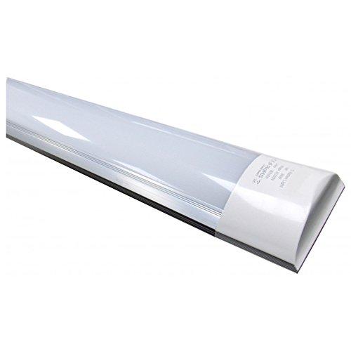 Led Atomant (LA) Pantalla Carcasa Integrado 120cm, 40 W, Color Blanco Frio