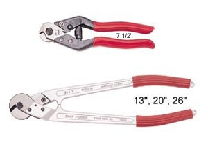 Hit Tools 22-WRC13 13-Inch Wire Rope Cutter with Aluminum Handle, Sold by Ucostore only