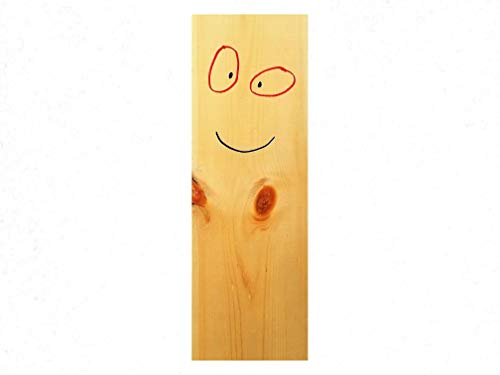 Plank Ed EDD and Eddy Character Life Size Replica Authentic Look Wooden Figure - 16