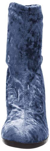 Bleu Botines Caprice Femme blue 25306 831 Velvet qBwtOAP