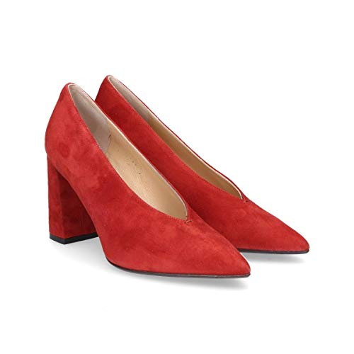 S5820red Donna Camoscio Seller Rosso The Decolleté tqx6wIEaF