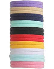 inSowni 50 Pack Super Soft Stretchy DIY Solid Nylon Headbands Baby Hair Bands One Size Fits All