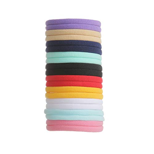 inSowni 50 Pack Super Soft Stretchy DIY Nylon Headbands Bulk Hair Bands One Size Fits All Newborns Infants Baby Girls Toddlers Kids