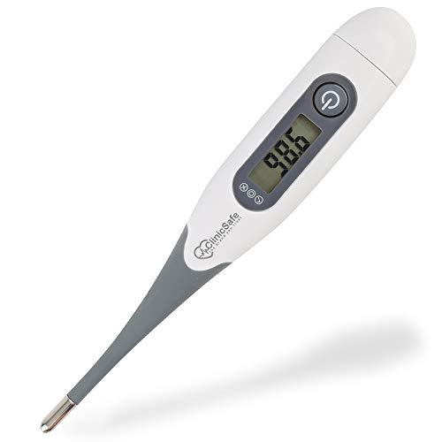Digital Medical Oral Thermometer for Fever - Baby Kids and Adults - Accurate and Fast 10 Sec Reading - Rectal and Armpit Temperature Termometro for Infant Children and Babies with ()