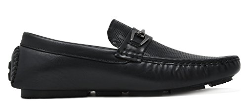 Loafers Penny Shoes PHILIPE Bruno Black Mens 01 Marc Moccasins qpBXB1