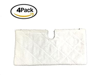 4Pack Anewise Pocket Steam Mop Pads for Shark Euro Pro S3501 S3601 S3901