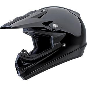 Scorpion VX-24 Solid Helmet Gloss Black M/Medium by Scorpion