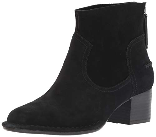 UGG Women's BANDARA Ankle Boot, Black, 8 M US