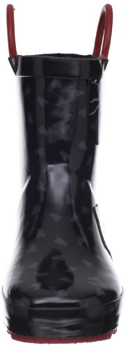 Kamik EK6352 Unisex Bugs blk schwarz Kinder Gummistiefel vv6rwqO