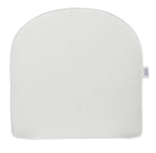 (RSH Décor Indoor ~ Outdoor Outdura Solid Natural White Foam Single U-Shape Cushion)