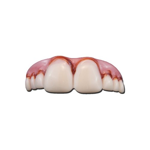 Costumes Fake Teeth (Billy Bob Buck Goofy Joke False Teeth Fancy Dress New)