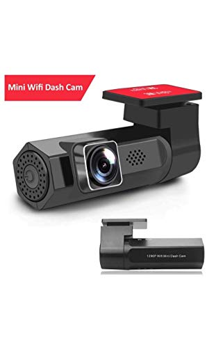WiFi Dash Cam, Ultra HD Dashboard Camera 1296P Car Camera Recorder with Sony COMS 150°Wide Angle Starlight Night Vision,GPS Logger, Parking Control, Loop Recording, WDR