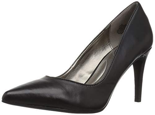 Bandolino Women's FATIN Pump, Black Leather, 6 M US