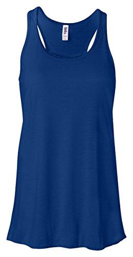 Bella T-shirt Tank Top (Bella Canvas Women's Racerback Tank Top, True Royal, XX-Large)