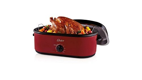 Beach 18 Qt Roaster Oven (Turkey Roaster Oven 24-Pound 18-Quart Extra-deep Lid Design)